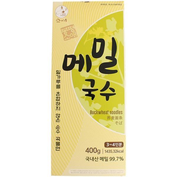 국내산 메밀 100% 봉평 메밀국수 400g / 산지직송