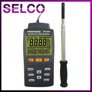 열선풍속계 TM-4001 풍속 풍량 온도측정 데이터저장