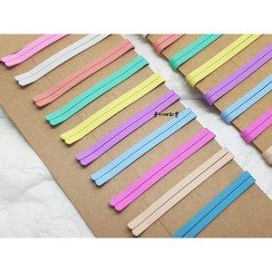 빼빼로 무광컬러실핀(10개)/색깔실핀/헤어실핀