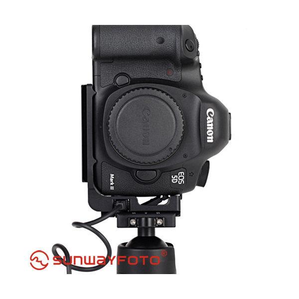 (SunwayFoto)  썬웨이포토   L 플레이트  PCL-5DIII (Canon 5D Mark III용)