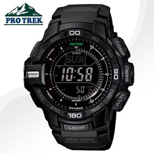 정품 CASIO  프로트렉  PRG-270-1A  LED오토라이트 월드타임 고도계 기압계 등산 아웃도어시계 최강자