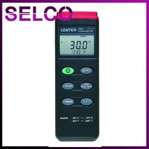 휴대용 온도계 CENTER300 디지털 센서분리형 접촉식