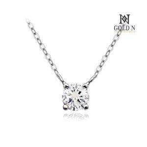 (골드앤(GoldN)) 골드앤 18K 퓨리 1부 다이아몬드 목걸이 WG