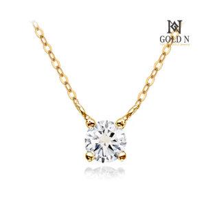 (골드앤(GoldN)) 골드앤 14K 퓨리 1부 다이아몬드 목걸이 YG