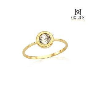(골드앤(GoldN)) 골드앤 18K 4월 다이아몬드 탄생석 반지 YG