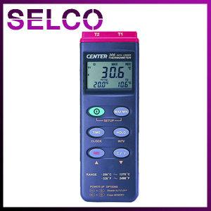 데이터로거 온도계 CENTER306 휴대용 2채널 온도계