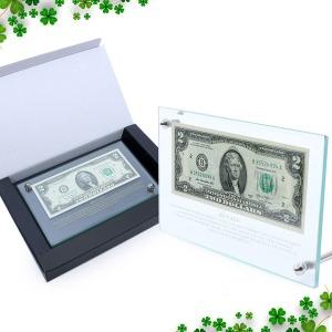 행운의 2달러 이달러 액자 지폐 화폐 돈 개업기념선물