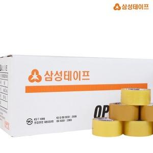 삼성OPP박스테이프 1BOX(라바50Mx50개입 미색)
