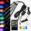 RGB댄싱 LED바 풋등 키트 세트/자동차량실내무드등