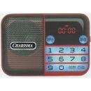 효도라디오 K-83 빨강 mp3휴대라디오USB/SD카드노래칩