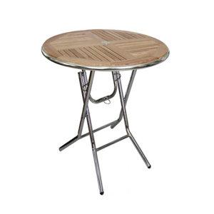 접이식오크탁자/야외테이블/정원테이블/테라스