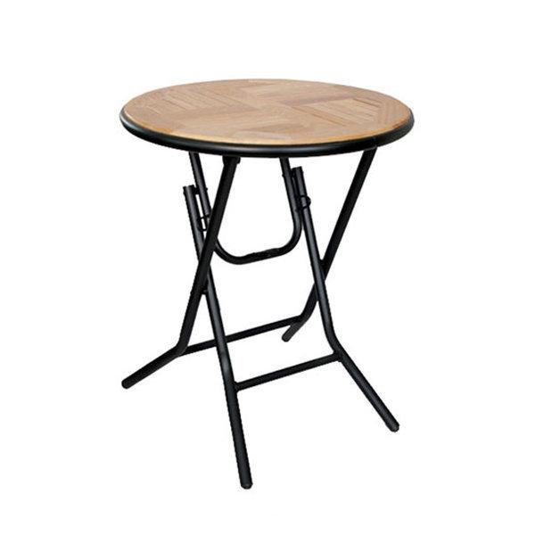 접이식오크탁자블랙/야외테이블/정원테이블/테라스