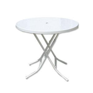 접테이블(원형)/야외용테이블/접이식테이블