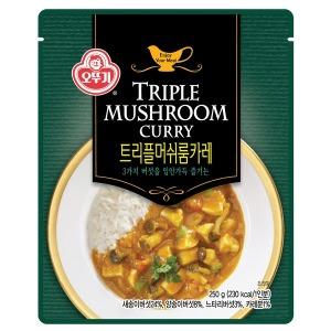 맛 그 이상의 가치- 오뚜기 트리플 머쉬룸 카레 250g