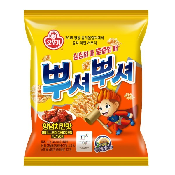뿌셔뿌셔 (양념치킨맛) 90g