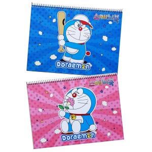3000 도라에몽 스케치북 캐릭터 넉넉한 매수35매 내외