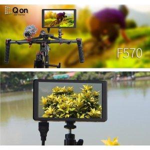 (Qon) F570 4K / 5.7인치 방송용 모니터/4K HDMI 지원