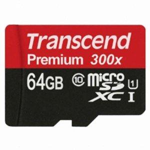 Transcend micro SDXC CLASS10 UHS-I (64GB) 빠른발송