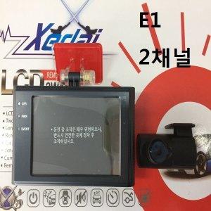 2채널 블랙박스 HD LCD 액정 모니터 터치스크린
