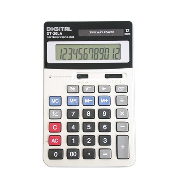 사무용계산기/전자계산기/탁상용계산기 /DT-20LA