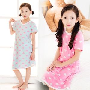 슈가하트 아동잠옷/이지웨어 슈가하트 아동잠옷 원피스