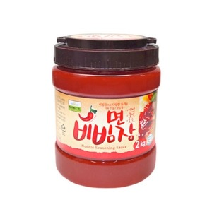 칠갑농산 면 비빔장 2kg 대용량 만능비빔장/냉면장