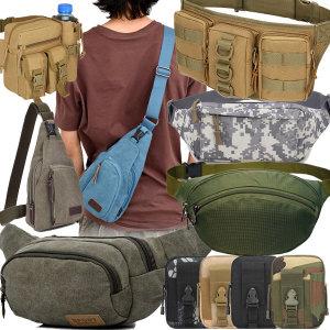 허리가방.등산.보조가방.여행가방.힙색.메신저백