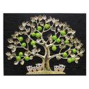 인테리어 벽걸이 장식 그림 액자 풋사과부엉이(특대)