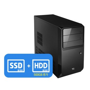 i5-2세대 SSD 데스크탑 컴퓨터 중고 PC 모니터 세트