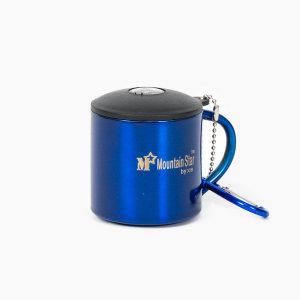 캠핑컵-등산용컵 (소) 블루
