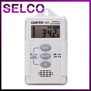 데이터로거온습도계 CENTER342 실내온습도 실시간관리