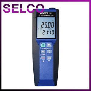 고정밀온도계 CENTER375 -100~400℃측정 분해능0.01℃