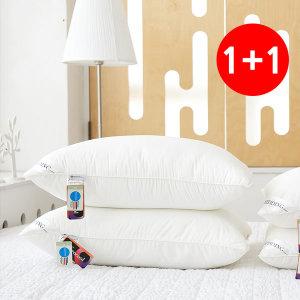1+1 호텔 베개솜 뽀송뽀송 마이크로/다운필