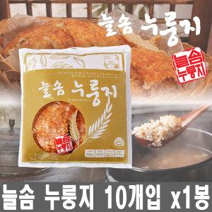 늘솜 누룽지 10인분 개별 포장 휴대간편 60g x 10