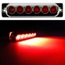 24V LED 차폭등 빨강中/사이드램프/코너등/화물차용품