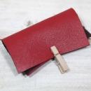 로스킨가죽공예소가죽(사피아노 패턴/10평/빨강색)