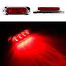 24V LED 차폭등 빨강小/사이드램프/코너등/화물차용품