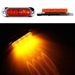 24V LED 차폭등 노랑小/사이드램프/코너등/화물차용품