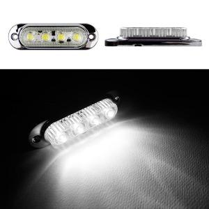 24V LED 차폭등 백색小/사이드램프/코너등/화물차용품