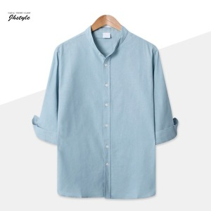 여름 신상 셔츠/린넨/반팔/헨리넥/남자/남성/슬랙스
