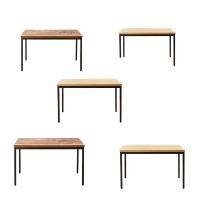 철재4인식탁 테이블 책상 업소용 학생책상 업소용