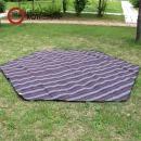 원터치 육각 텐트 전용 카펫시트 5인용 캠핑 용품
