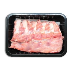 국내산 돼지 등갈비 (냉장) 500g 얼리지않은 냉장육