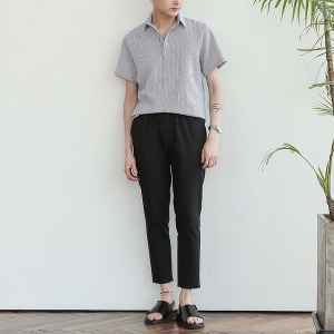 A남성셔츠/남방/헨리넥/스트라이프/티셔츠/남자바지