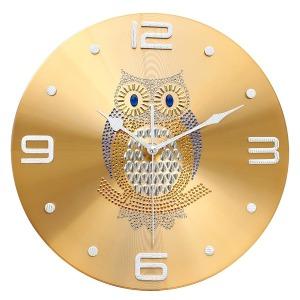 황금부엉이 인테리어 벽시계 행운을주는시계 특가할인