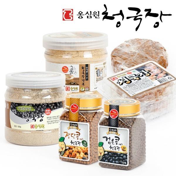 옹심원 청국장분말(300g) 검정콩 청국장환 청국장가루