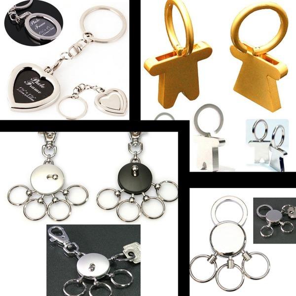 벨트멀티키링 자동차핸들 하트액자 남녀커플 열쇠고리