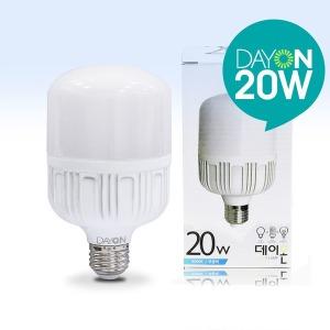 원통 LED전구 LED벌브 현관조명 /  LED보안등 20W E26