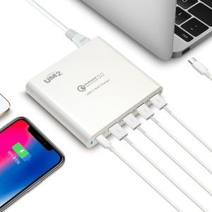 UM2 5포트 USB-PD 멀티충전기 QC80W 노트북충전 PD충전