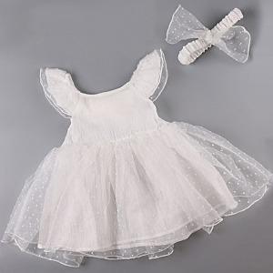 로웰 아기 드레스 세트 나시 베이비 옷 백일 돌 복 용